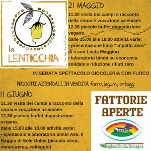 La Lenticchia - Magliano - Forlì - Fattorie Aperte - legumi biologici