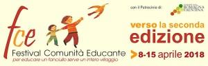 Banner Festival comunità educante 2018 Faenza